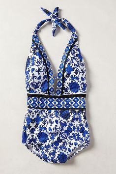 Surprisingly cute one piece. Nanette Lepore Etienne Maillot - anthropologie.com