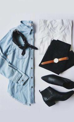 Minimal | flatlay | spring outfit | summer | ootd