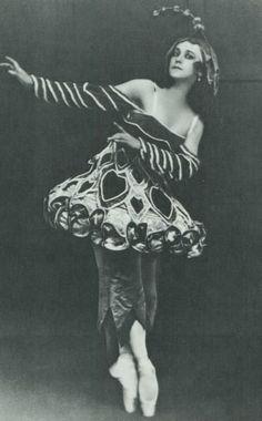 Tamara Karsavina in the Ballet 'Petrouchka', 1911