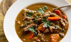 a bunch of #paleo beef stew recipes. the ginger beef stew is a staple at our house but we add the juice of half a lime at the very end.