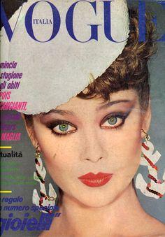 Vogue Italia April 1979 1 Photo François Lamy  Model Lena Kansbod