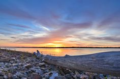 """Yesterday's sunset over the Mighty Mississippi - near Greenville, MS - see more at  <a href=""""http://www.instagram.com/johnmontfort"""">http://www.instagram.com/johnmontfort</a><br /> <br /> Feel free to share!"""
