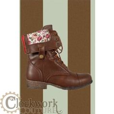 Polly Pastime's Prairie Boots