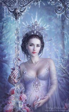 Fantasy Island — fantasyartfinds:Art by Helga-Helleborus Dark Fantasy Art, Fantasy Girl, Fantasy Art Women, Beautiful Fantasy Art, Fantasy Kunst, Anime Fantasy, Fantasy Artwork, Fantasy Pictures, Digital Art Girl