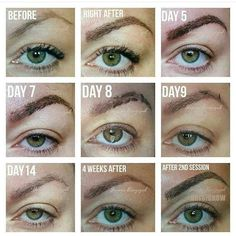 Microblading, microstroking, eyebrow embroidery, 3Dbrows, eyebrow tattoo, semipermanent makeup #microblading #microbladingtoronto #beauty #beautiful #toronto #eyebrowembroidery