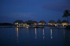 Sofitel Motu Bora Bora bungalows