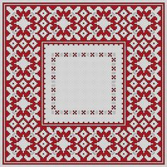 """Bulgarian Motif No.4"" cross stitch pattern"