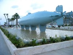 Isaac Peral Submarine. THE FIRST SUBMARINE OF THE WORLD. Cartagena-Spain