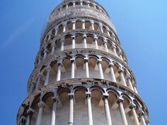 Check if the Tower of Pisa actually isn't straight.