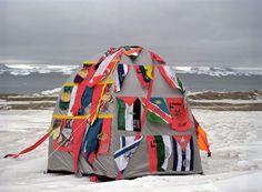 Antarctic village - No borders