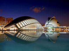 Arquitectura!!! Palacio de las Artes Reina Sofia, Valencia- España...