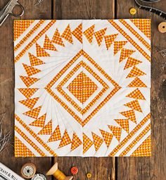 BOM Winnie by Lynne Goldsworthy for Issue 19 of Love Patchwork & Quilting magazine