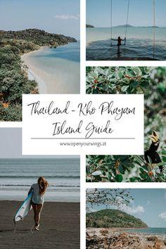 Du suchst einen Rückzugsort in Thailand, wo du relaxen kannst und wo es noch menschenleere Strände gibt? Dann hab ich genau das Richtige für dich: die Insel Kho Phayam 🌴🏄♀️☀️ Ko Samui, Chiang Rai, Krabi, Bangkok, Thailand, Tricks, Asia, Hotels, Polaroid Film