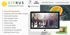Citrus - One Page Multi-Purpose Theme  -  https://themekeeper.com/item/wordpress/citrus-one-page-theme