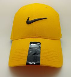 NIKE LEGACY 91 ADULT UNISEX SWOOSH FLEX YELLOW HAT CAP (ONE SIZE) -- NEW   Nike  BaseballCap 68a13c52bfe