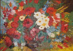 Яркий букет Свободная копия работ Сергеева