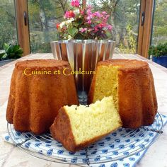 Gâteau battu picard de Mr Hubert Demortain