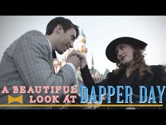 A Beautiful Look at Dapper Day - Disney Style - YouTube
