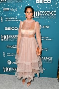 Tracee Ellis Ross at Essence Black Women in Hollywood Awards at the Beverly Wilshire Four Seasons Hotel on February 23, 2017 in Beverly Hills, California