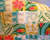 chenille baby quilt on etsy