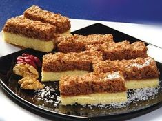 Chod: Zákusky a koláče - Page 34 of 258 - Mňamky-Recepty. No Cook Desserts, Dessert Recipes, Brze Torte, Czech Recipes, Ethnic Recipes, Coconut Recipes, Christmas Baking, Sweet Recipes, Tiramisu