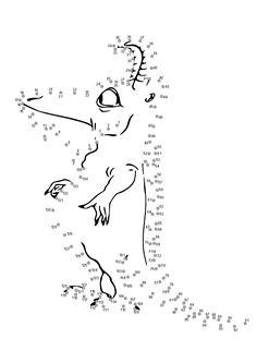 Obrázek k tisku pro děti k vybarvení a vytištění, omalovánka k vytisknutí Obluda