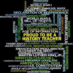 Proud History Teacher Organic Women's T-Shirt