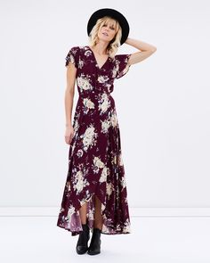 Muse Maxi Dress by Auguste Online | THE ICONIC | Australia