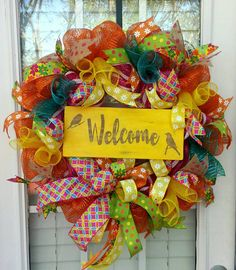 Check out this item in my Etsy shop https://www.etsy.com/listing/288253591/spring-everyday-welcome-wreath-yellow