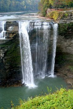 Middle Falls, Letchworth State Park, New York