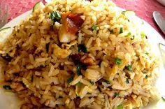 COMIDA CHINO - PERUANA.: ARROZ CHAUFA /  fried rice /   riz frit