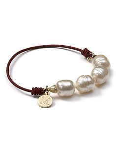 Majorica Cultured Baroque Pearl Stretch Bracelet   Bloomingdale's