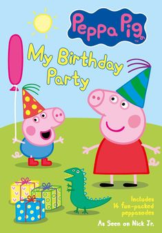 PEPPA PIG: MY BIRTHDAY PARTY & Giveaway ~ The Review Stew