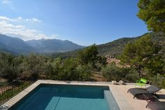 Finca in an olive grove with stunning views in Fornalutx #mallorca #finca #realestate #fornalutx #property