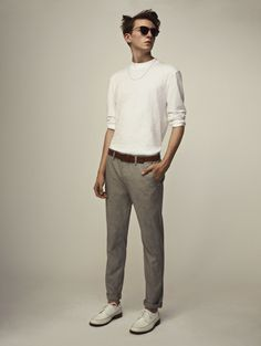a123819a New neutrals trend New Mens Fashion, Male Fashion, Fashion Updates, Mens  Trends,