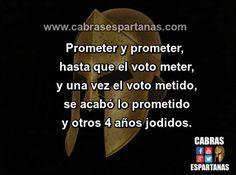 Promesas electorales el cuento sin fin