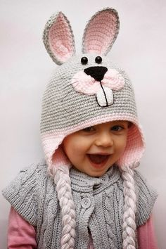 Bunny sweet hat http://mamtwory.pl/