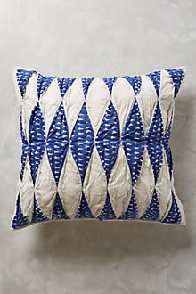 Americana Ikat Pillow - anthropologie.com