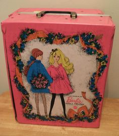 You had to have a case for your Barbies and all their clothed!