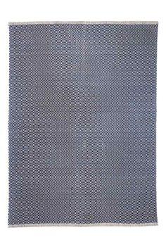 Хлопковый коврик с рисунком: Большой тканый коврик из хлопка с набивным рисунком на лицевой стороне.