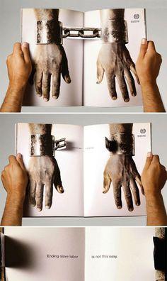 Pubblicità a mezzo stampa: 15+ esempi di impaginazioni creative