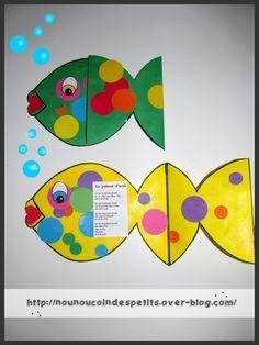 - Carte poisson d'avril et son poème