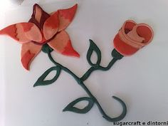 sugar flowers 2D tutorial http://sugarcraftedintorni.blogspot.it/2011/04/fiori-in-2dle-rose.html
