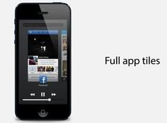 Apple iOS 7 : un concept multitâches par Jesse Head
