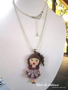 Pendant Necklace, Jewelry, Fashion, Fimo, Moda, Jewlery, Jewerly, Fashion Styles, Schmuck