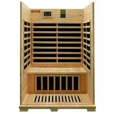 Canadian Hemlock Wood Indoor Dry 2 Person Carbon FAR Infrared Sauna - http://infraredsaunaspot.com/canadian-hemlock-wood-indoor-dry-2-person-carbon-far-infrared-sauna-725064328/
