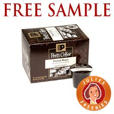 Free Sample Peet's Coffee K Cups - Julie's Freebies Coupons For Free Items, Free Coupons By Mail, Free Stuff By Mail, Get Free Stuff, Single Mom Help, Coffee K Cups, Coffee Pictures, Blended Coffee, Free Samples