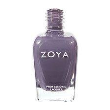 Zoya Nail Polish ZP519  Kelly  Purple Gray Blue Nail Polish Cream Nail Polish - must - ordered!