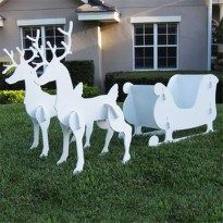 Stunning Front Yard Christmas Decoration Ideas For Your Holiday 07