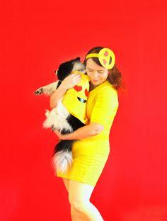 DIY Emoji Costume Fo